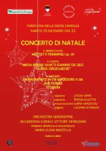 Concerto di Natale @ Chiesa della Sacra Famiglia | Ferrara | Emilia-Romagna | Italia