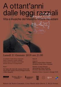 Giorno della Memoria: omaggio a Vittore Veneziani